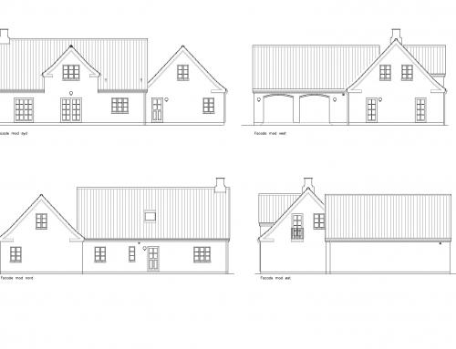 Arkitekttegnet landhus på 178 m²